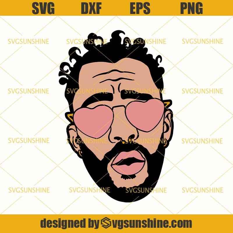 Bad Bunny Rapper Svg Png Dxf Eps Cutting File For Cricut Svgsunshine