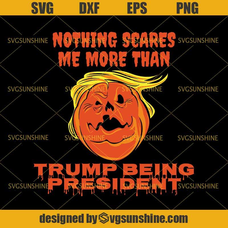 Trump Pumpkin Halloween Svg Trumpkin Svg Dxf Eps Png Cutting File For Cricut Svgsunshine